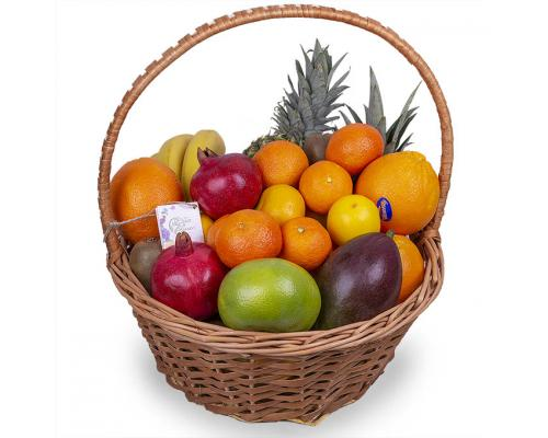 """Подарочная корзина фруктов """"стандарт"""""""